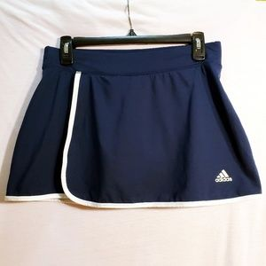 Adidas Climalite Athletic Tennis Golf Skirt Skort